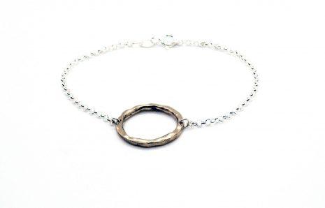 Bracelet La Baroudeuse – Bronze & Argent