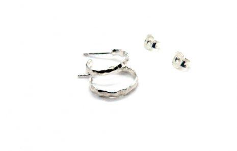 Boucles d'oreilles La Baroudeuse – Petites créoles