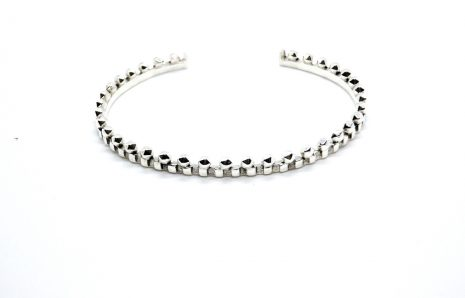 Bracelet La Majestueuse – Jonc en argent 925
